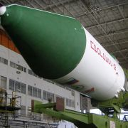 One-piece molded front radome shells for SOYUZ-U class rockets